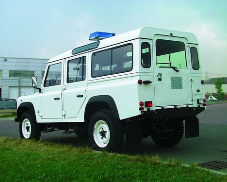 Фото Land Rover Defender 110