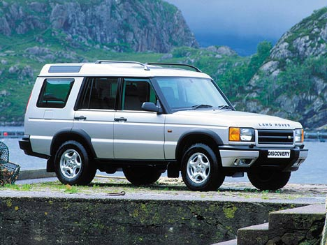 Фото Land Rover Discovery II