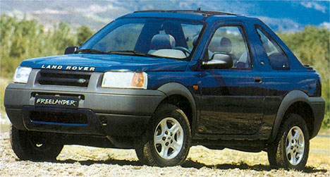 Фото Land Rover Freelander Soft Top
